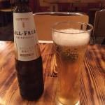 ノンアルコールビールは美容に通ず( ̄▽ ̄)