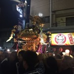梅ヶ丘の祭り2日目