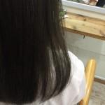 夏色アッシュ〜暗めの透け感〜