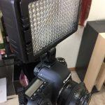 器材買いまし【撮影用LEDライト】